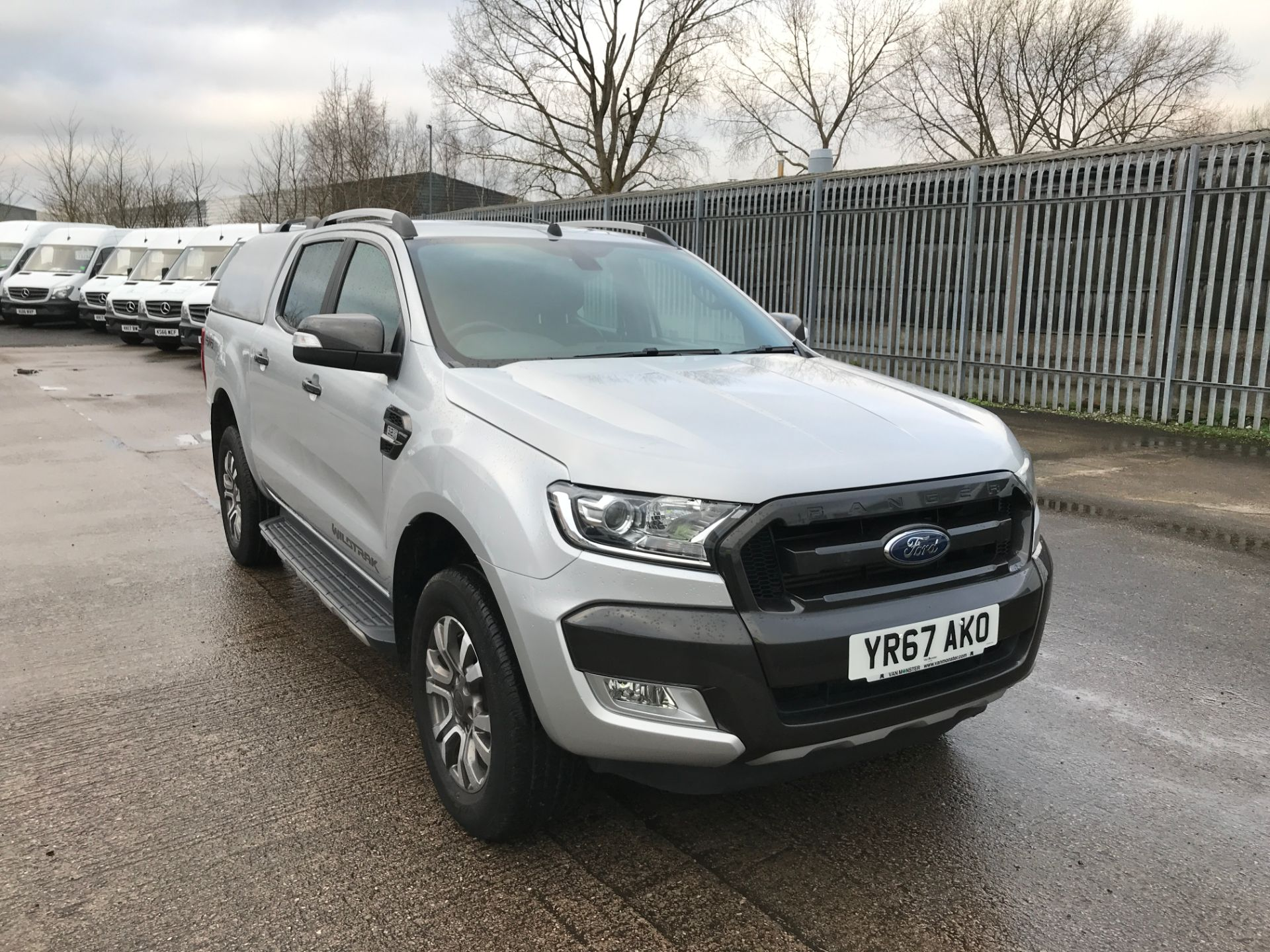 2017 Ford Ranger DOUBLE CAB 4X4 WILDTRAK 3.2TDI 200PS EURO 5 (YR67AKO)