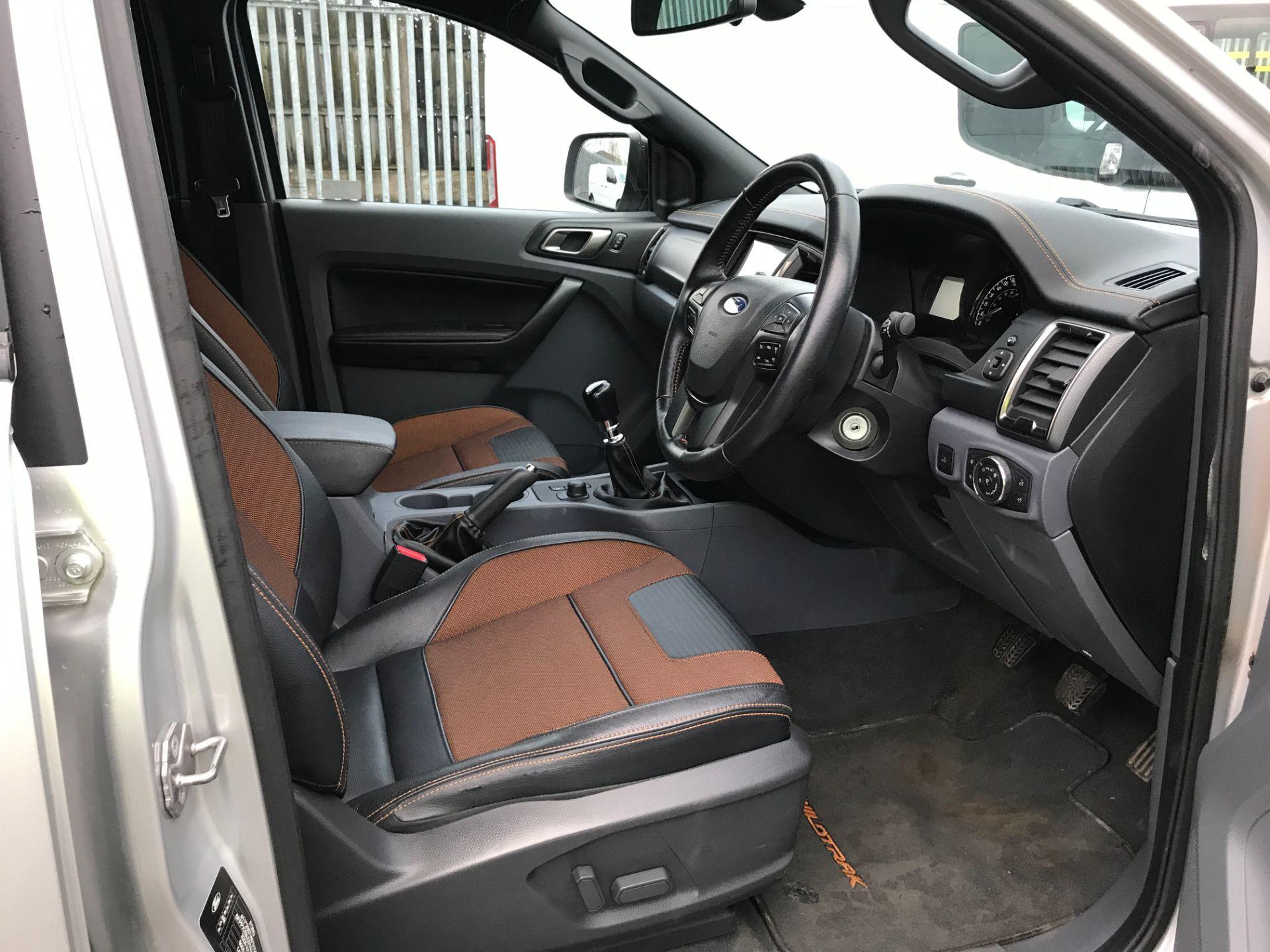 2017 Ford Ranger DOUBLE CAB 4X4 WILDTRAK 3.2TDI 200PS EURO 5 (YR67AKO) Image 2