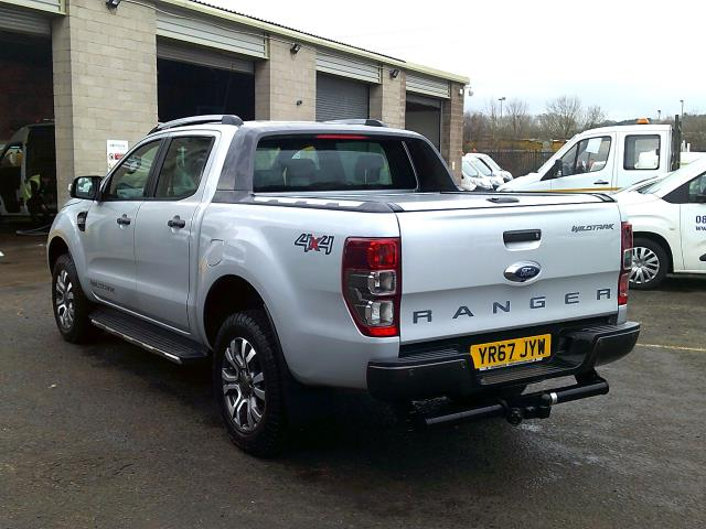 2017 Ford Ranger PICK UP  DOUBLE CAB WILDTRACK 3.2 TDCI 200 EURO 6 (YR67JYW) Image 7