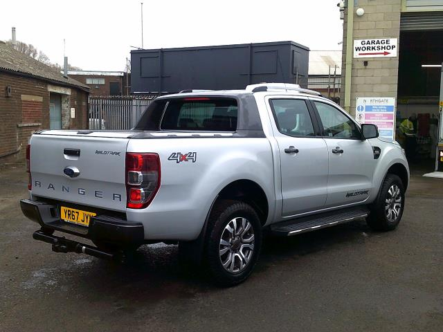 2017 Ford Ranger PICK UP  DOUBLE CAB WILDTRACK 3.2 TDCI 200 EURO 6 (YR67JYW) Image 11
