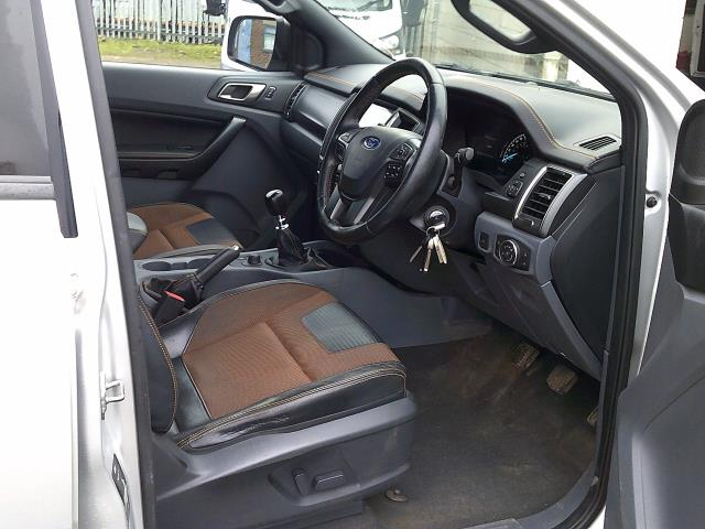 2017 Ford Ranger PICK UP  DOUBLE CAB WILDTRACK 3.2 TDCI 200 EURO 6 (YR67JYW) Image 16