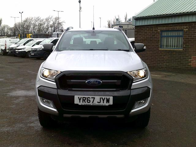 2017 Ford Ranger PICK UP  DOUBLE CAB WILDTRACK 3.2 TDCI 200 EURO 6 (YR67JYW) Image 2