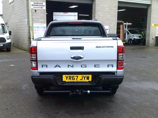 2017 Ford Ranger PICK UP  DOUBLE CAB WILDTRACK 3.2 TDCI 200 EURO 6 (YR67JYW) Image 8