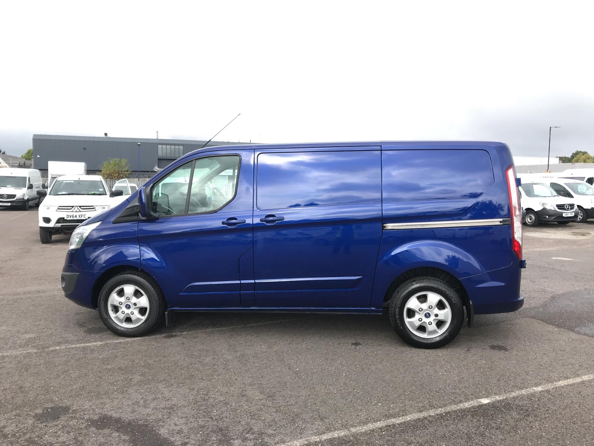 2015 ford transit custom 270 limited e tech 125ps low roof euro 5 ys15dvp