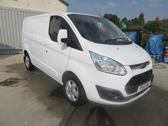 2015 Ford Transit Custom 2.2 TDCI -125PS - L1 -H1 - LIMITED VAN - EURO 5  *AIR CON* (YS15KNA)