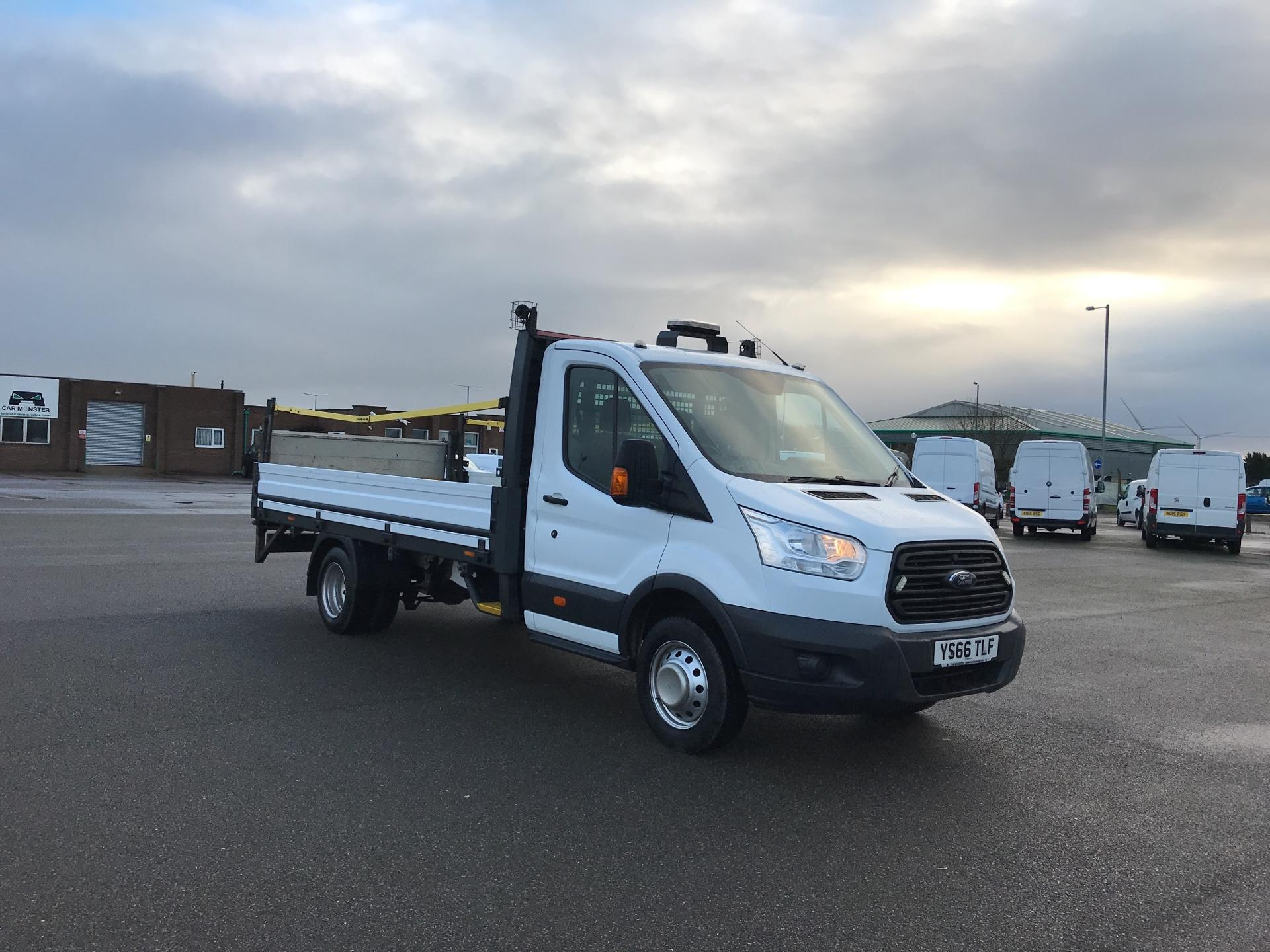 2016 Ford Transit 350 L4 DROP SIDE 125PS EURO 5. TAIL LIFT. REV PARK CAM. (YS66TLF)