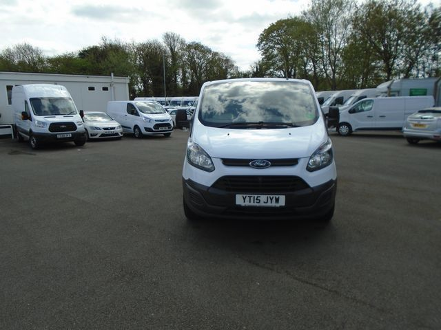 2015 Ford Transit Custom  270 L1 DIESEL FWD 2.2 TDCI 100PS LOW ROOF  EURO 5 (YT15JYW) Image 3