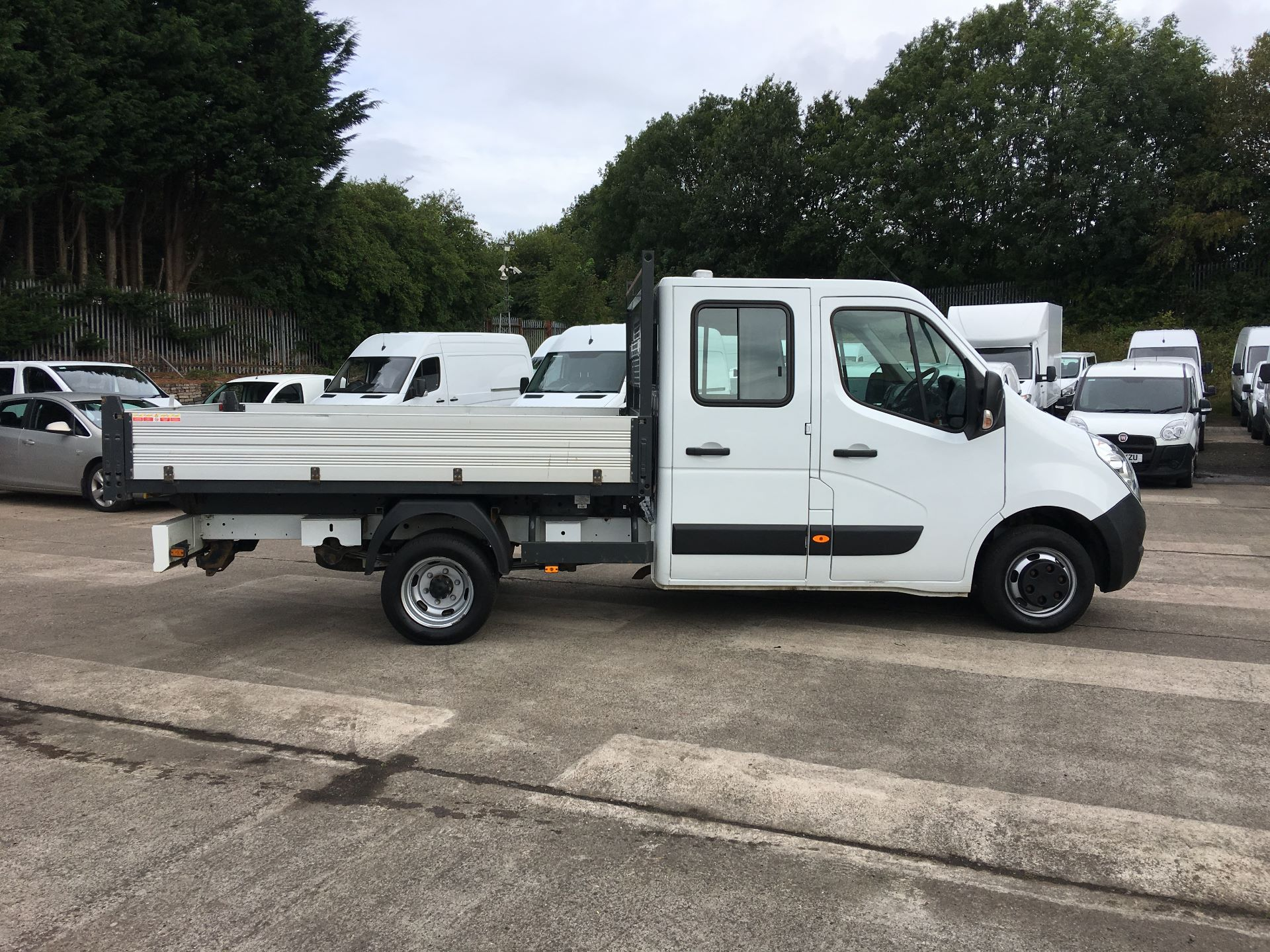 2016 Vauxhall Movano 35 L3 DIESEL RWD 2.3 CDTI 125PS D/CAB TIPPER EURO 5 (YT16WLR) Image 7