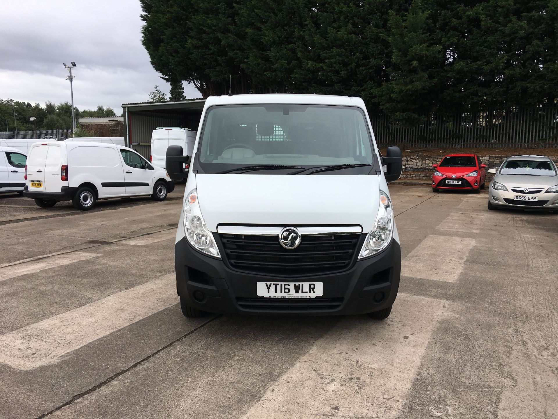 2016 Vauxhall Movano 35 L3 DIESEL RWD 2.3 CDTI 125PS D/CAB TIPPER EURO 5 (YT16WLR) Image 14