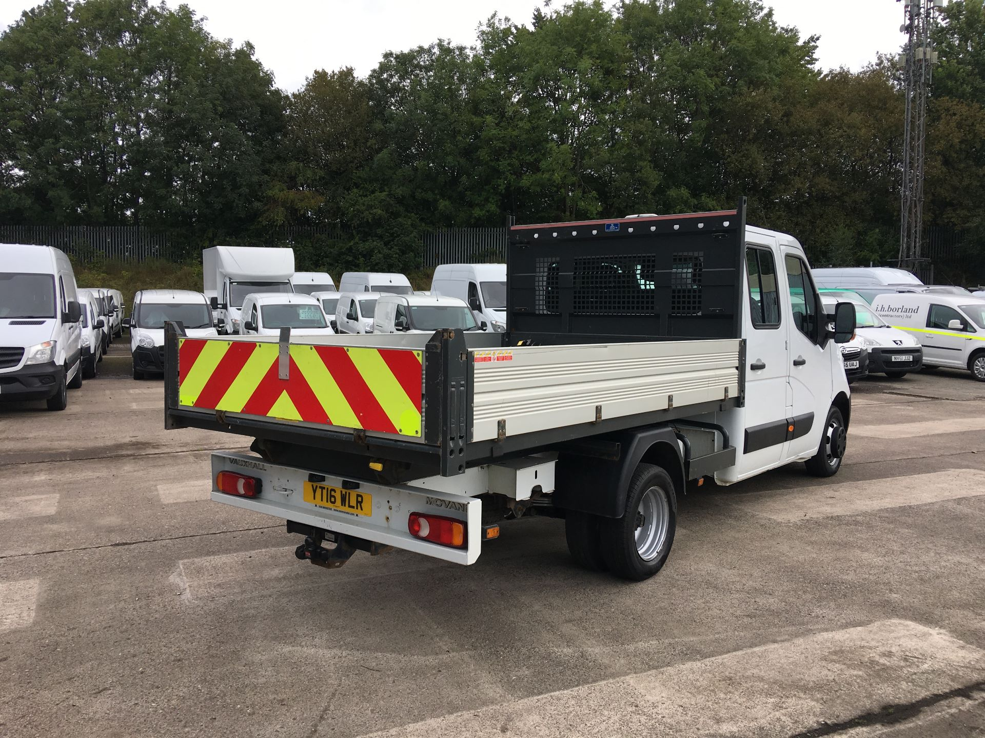 2016 Vauxhall Movano 35 L3 DIESEL RWD 2.3 CDTI 125PS D/CAB TIPPER EURO 5 (YT16WLR) Image 8