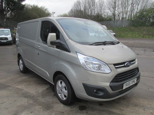 2015 Ford Transit Custom 290 L1 H1 2.2 Tdci 125Ps Limited Van (YX65XHG)