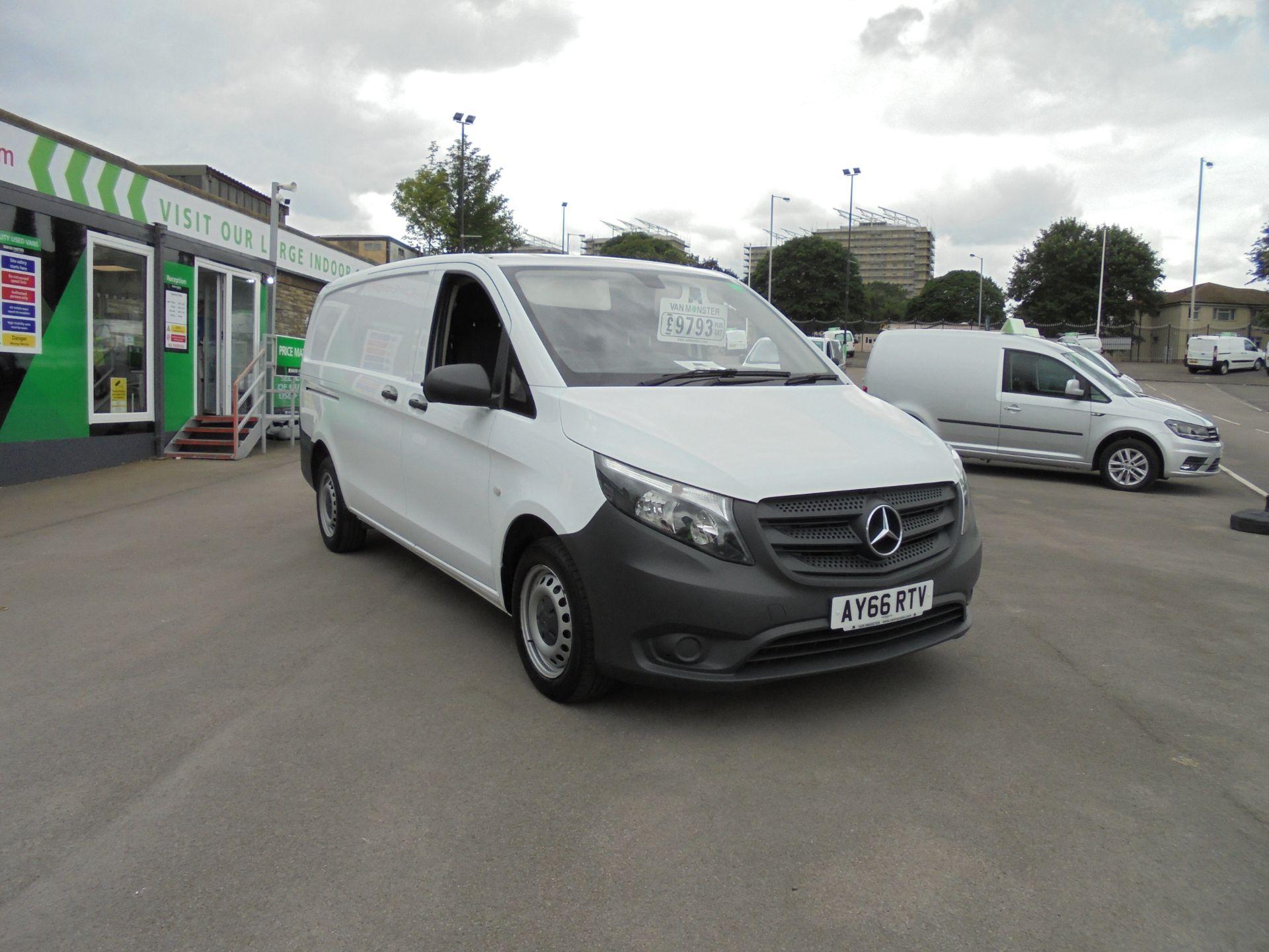 2016 Mercedes-Benz Vito 111Cdi Van (AY66RTV)