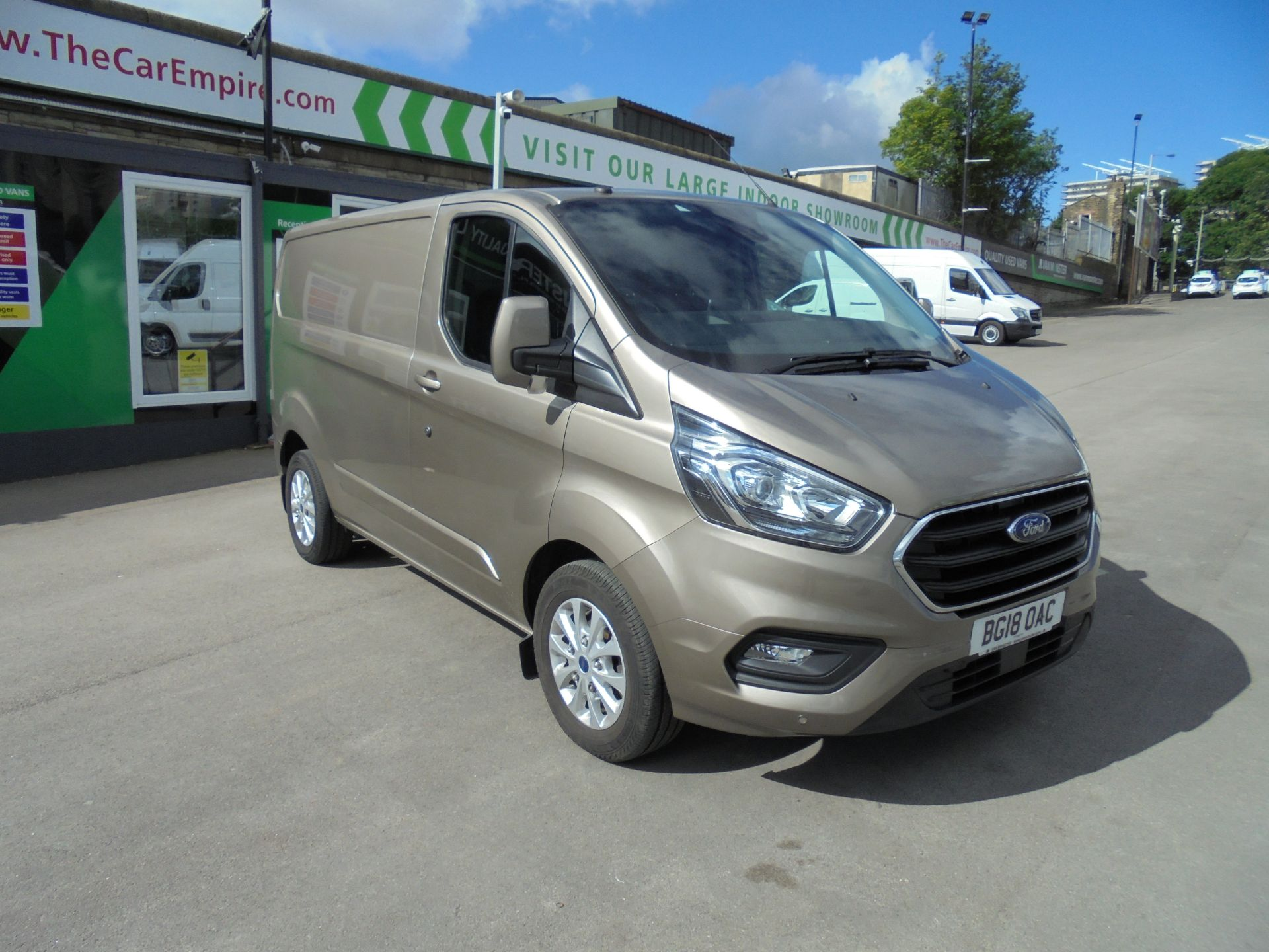 2018 Ford Transit Custom 2.0 Ecoblue 130Ps Low Roof Limited Van (BG18OAC)