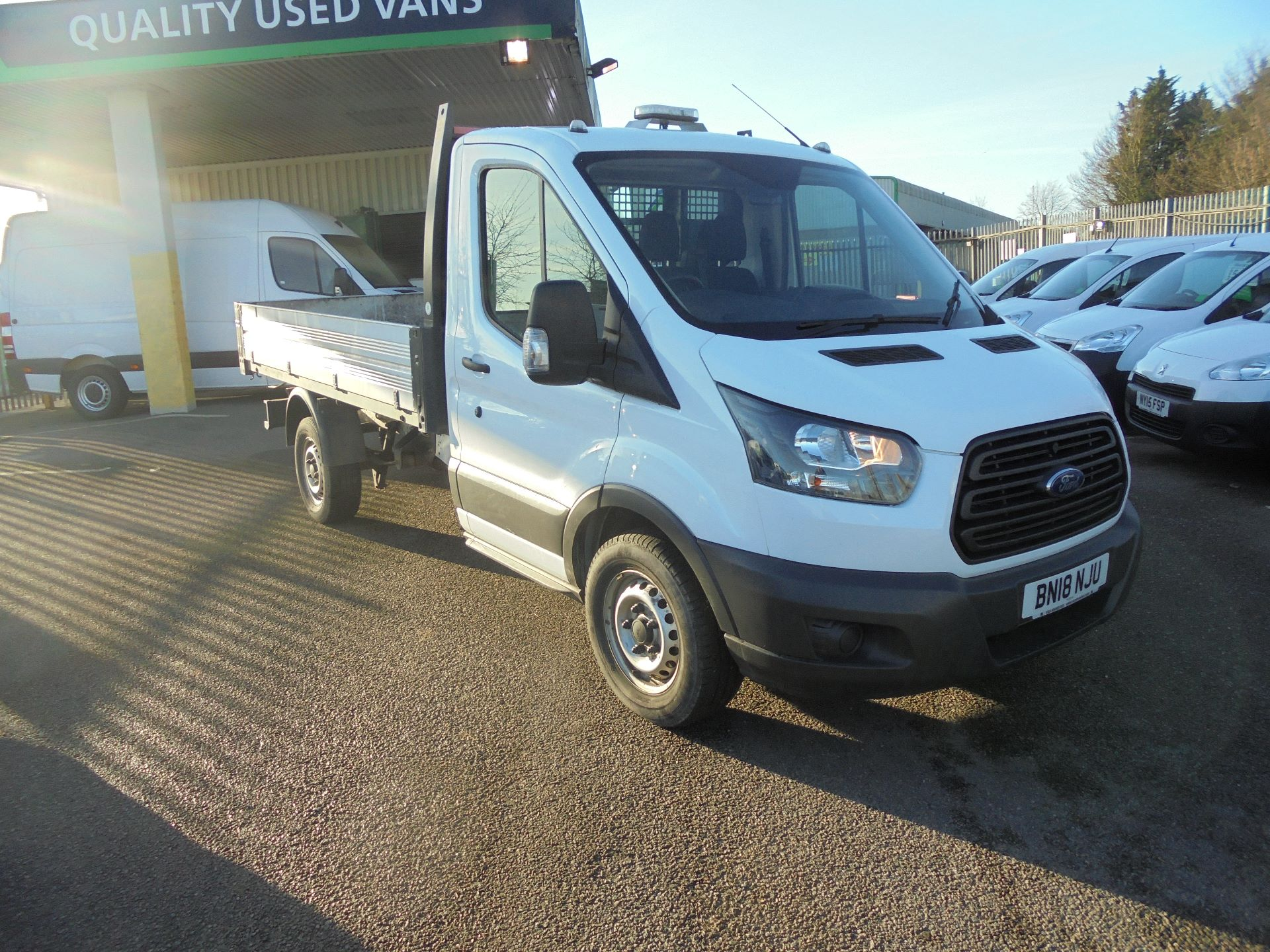 2018 Ford Transit 350 L2 SINGLE CAB TIPPER 130PS EURO 6 (BN18NJU)