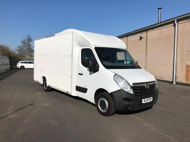 2014 Vauxhall Movano 35 13FT LUTON 125PS EURO 5 LOW LOADER (DL14XYA)