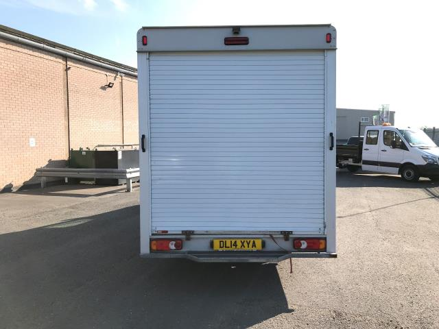 2014 Vauxhall Movano 35 13FT LUTON 125PS EURO 5 LOW LOADER (DL14XYA) Image 9