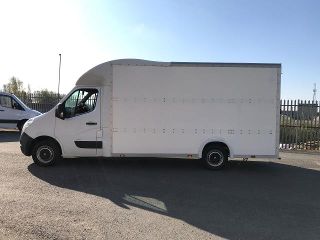 2014 Vauxhall Movano 35 13FT LUTON 125PS EURO 5 LOW LOADER (DL14XYA) Image 11