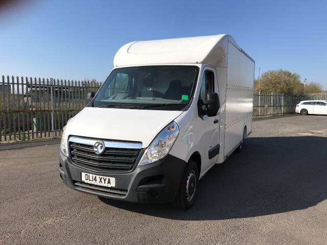 2014 Vauxhall Movano 35 13FT LUTON 125PS EURO 5 LOW LOADER (DL14XYA) Image 12