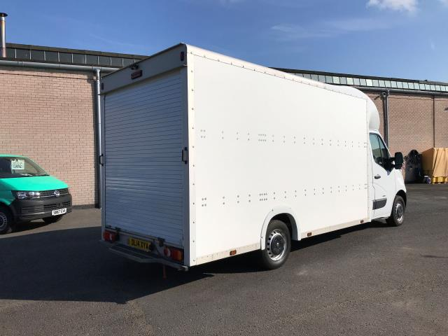 2014 Vauxhall Movano 35 13FT LUTON 125PS EURO 5 LOW LOADER (DL14XYA) Image 8