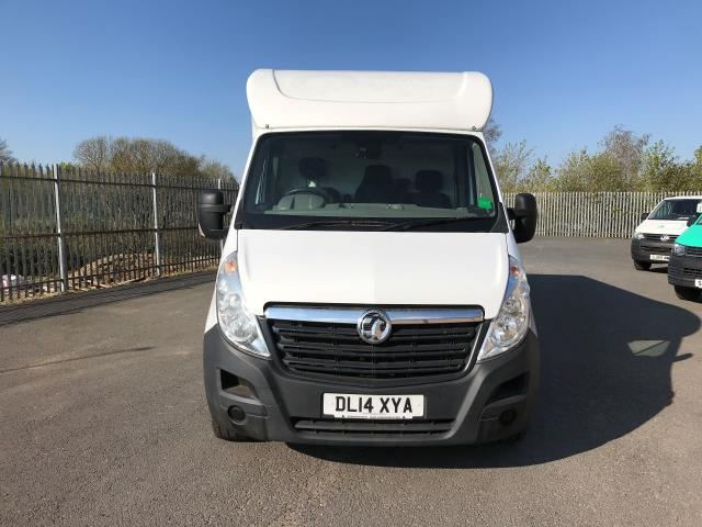 2014 Vauxhall Movano 35 13FT LUTON 125PS EURO 5 LOW LOADER (DL14XYA) Image 13