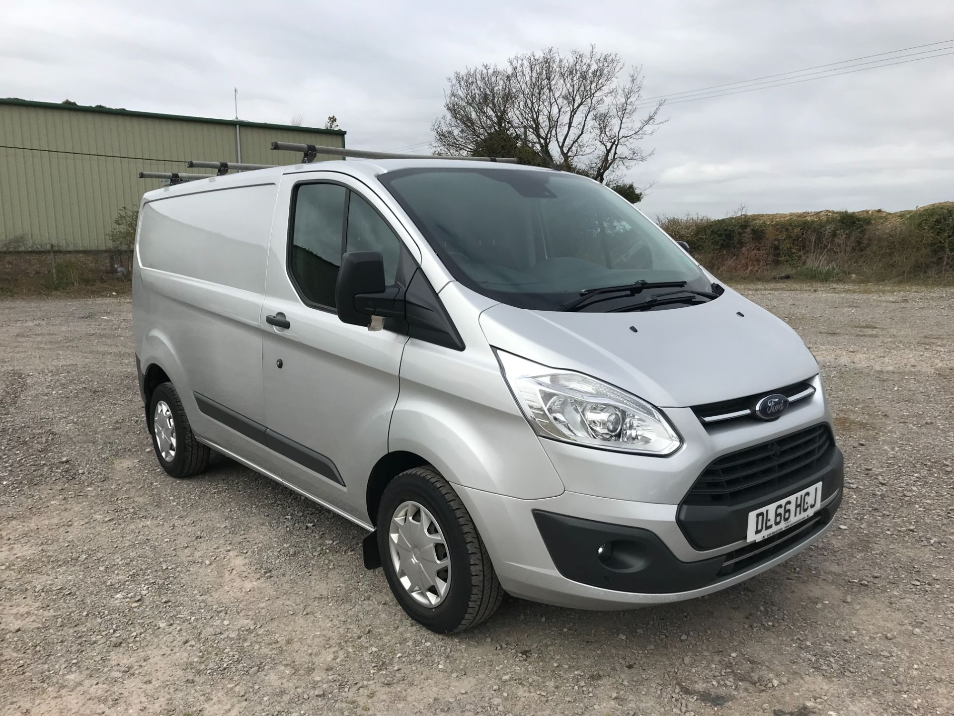 2016 Ford Transit Custom 270 L1 DIESEL FWD 2.0 TDCI 130PS LOW ROOF TREND VAN EURO 6 (DL66HCJ)