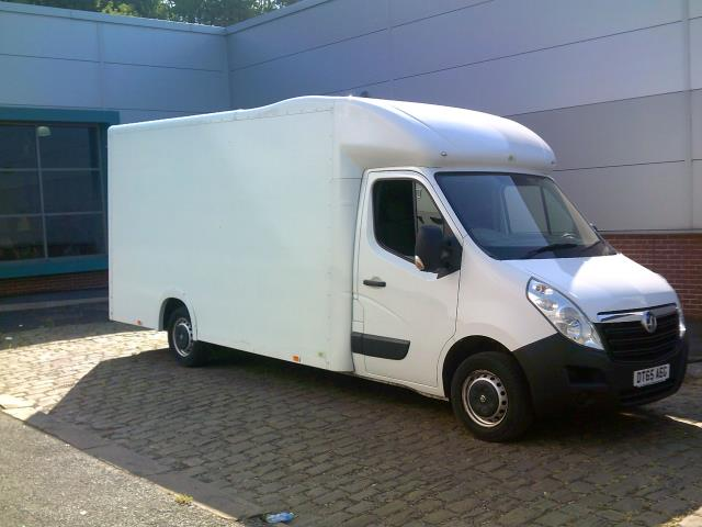 2016 Vauxhall Movano 2.3 Cdti Biturbo Ecoflex H1 Luton 136Ps low loader  (DT65AEG) Image 8