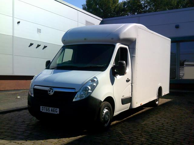 2016 Vauxhall Movano 2.3 Cdti Biturbo Ecoflex H1 Luton 136Ps low loader  (DT65AEG) Image 2
