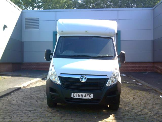2016 Vauxhall Movano 2.3 Cdti Biturbo Ecoflex H1 Luton 136Ps low loader  (DT65AEG) Image 3