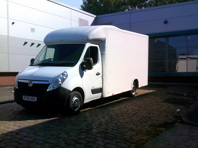 2016 Vauxhall Movano 2.3 Cdti Biturbo Ecoflex H1 Luton 136Ps low loader  (DT65AEG) Image 9