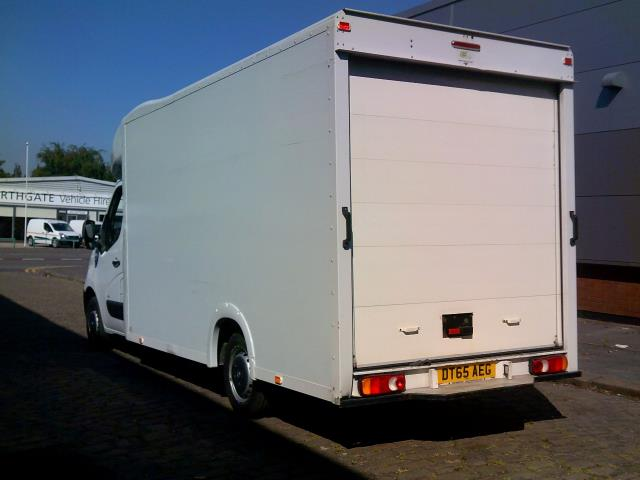 2016 Vauxhall Movano 2.3 Cdti Biturbo Ecoflex H1 Luton 136Ps low loader  (DT65AEG) Image 4
