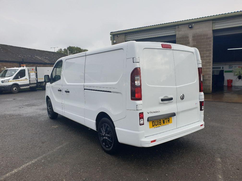 2018 Vauxhall Vivaro L2 H1 2900 1.6 120PS SPORTIVE EURO 6 (DU18WTR) Image 8