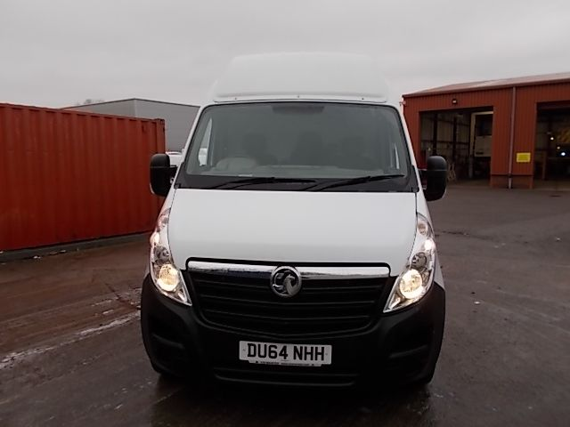 2014 Vauxhall Movano 35 L3 H3 125PS EURO 5  *VALUE RANGE VEHICLE - CONDITION REFLECTED IN PRICE* (DU64NHH) Image 8
