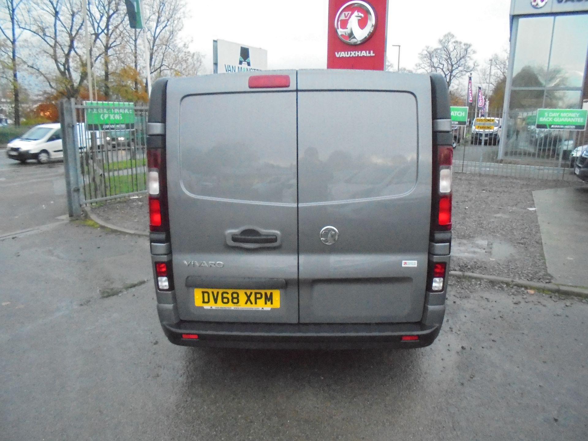 2018 Vauxhall Vivaro L2 2900 1.6CDTI 120PS SPORTIVE H1 EURO 6  (DV68XPM) Image 4