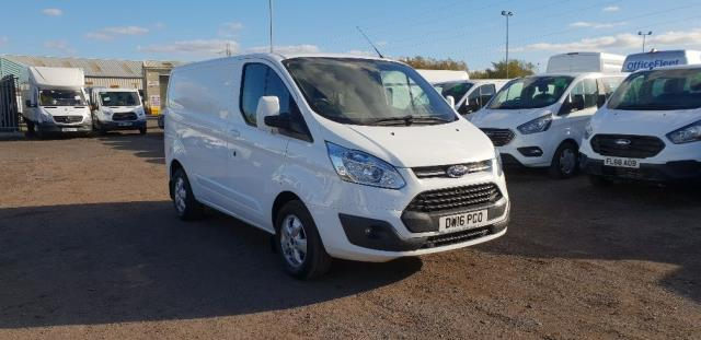 2016 Ford Transit Custom 270 L1 DIESEL FWD 2.2  TDCI 125PS LOW ROOF LIMITED VAN EURO 5 (DW16PCO)