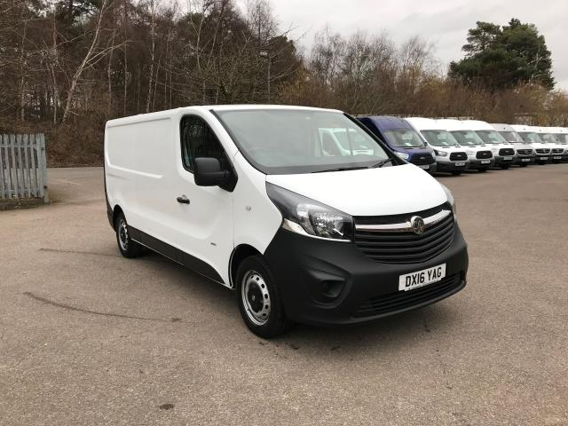 2016 Vauxhall Vivaro  L2 H1 2900 1.6 115PS EURO 5 *VALUE VAN CONDITION REFLECTED IN PRICE* (DX16YAG)