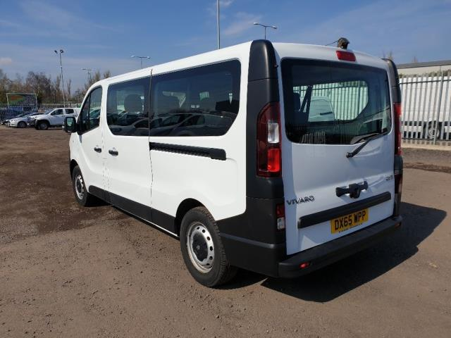 2015 Vauxhall Vivaro L2 H1 2900 1.6 115PS COMBI 9 SEAT EURO 5 NO VAT (DX65WPP) Image 8