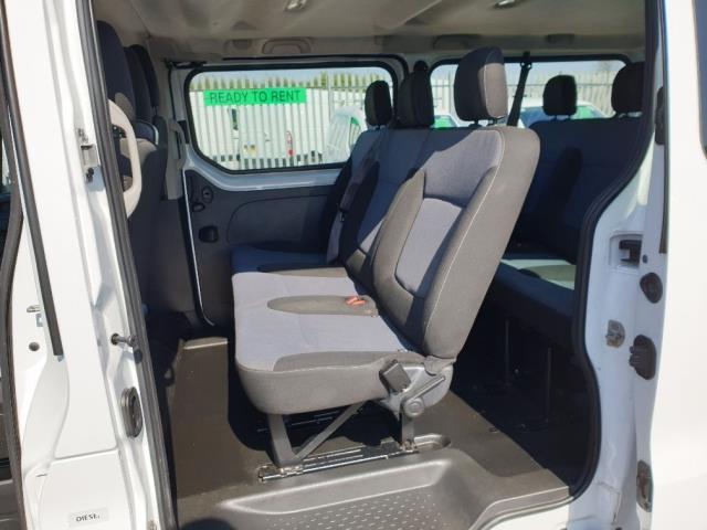 2015 Vauxhall Vivaro L2 H1 2900 1.6 115PS COMBI 9 SEAT EURO 5 NO VAT (DX65WPP) Image 6