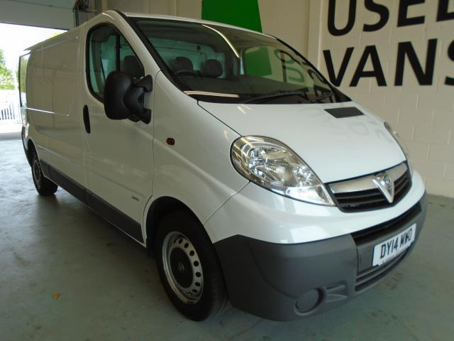 2014 Vauxhall Vivaro LWB 2.0 115PS 2.9T EURO 5  (DY14MWO)