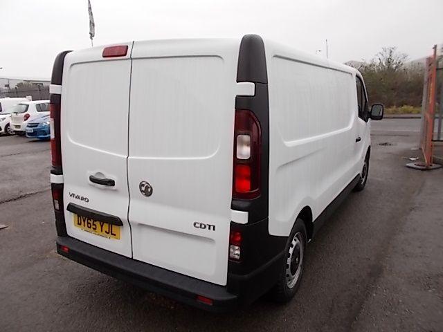 2015 Vauxhall Vivaro  L2 H1 2900 1.6 115PS EURO 5 (DY65YJL) Image 5