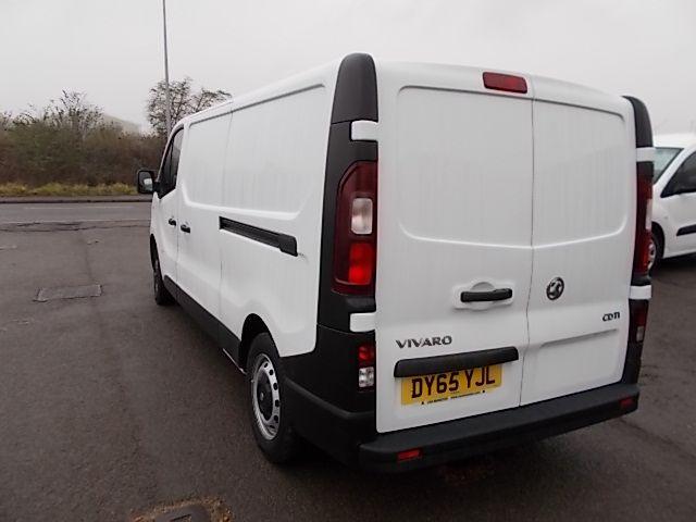 2015 Vauxhall Vivaro  L2 H1 2900 1.6 115PS EURO 5 (DY65YJL) Image 4