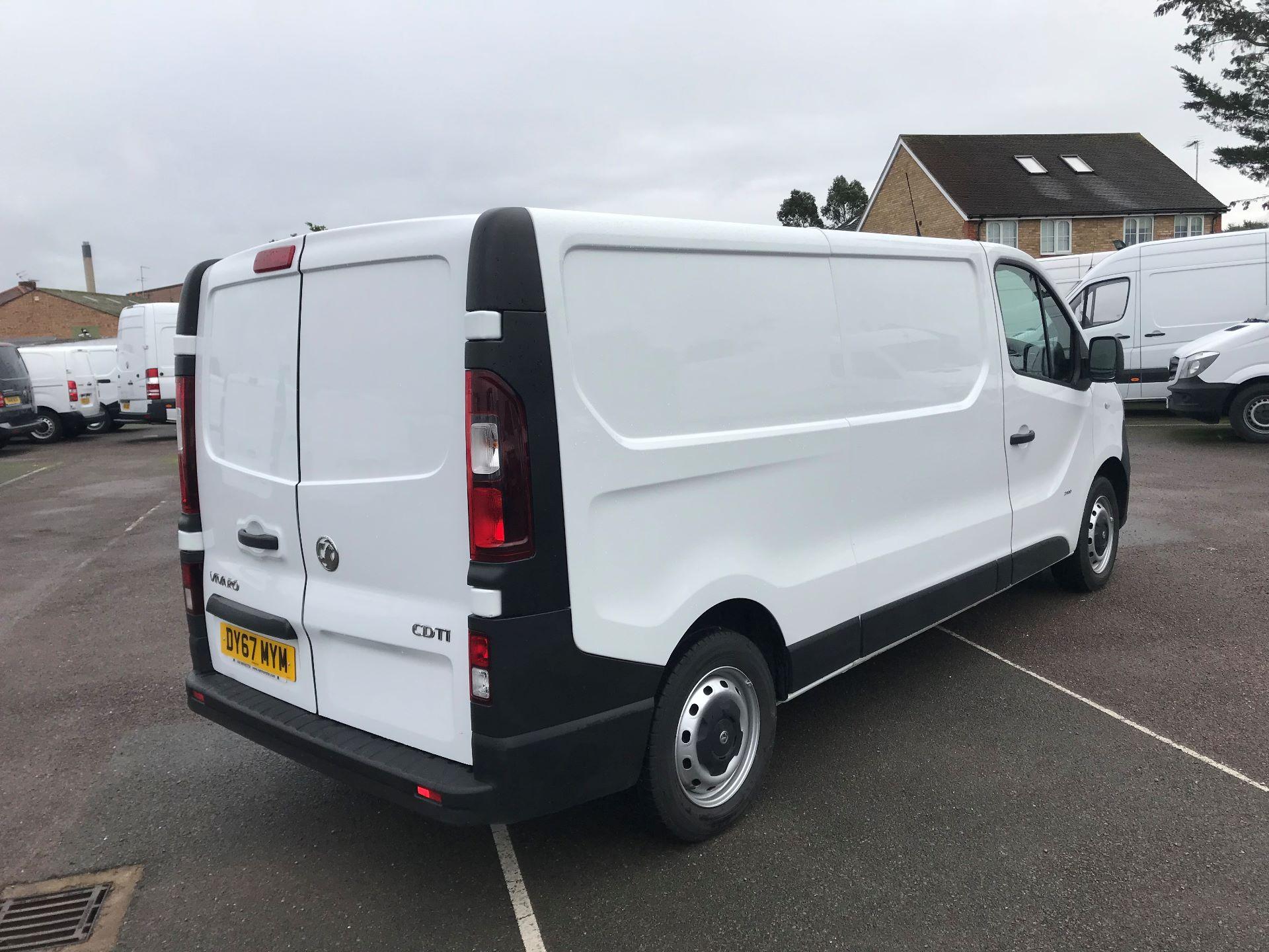 2017 Vauxhall Vivaro  L2 H1 2900 1.6 CDTI 120PS EURO 6 (DY67MYM) Image 4