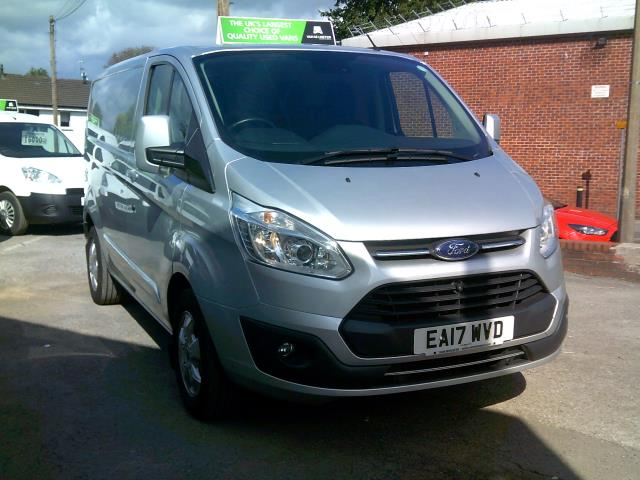 2017 Ford Transit Custom 2.0 Tdci 130Ps Low Roof Limited Van (EA17WVD)