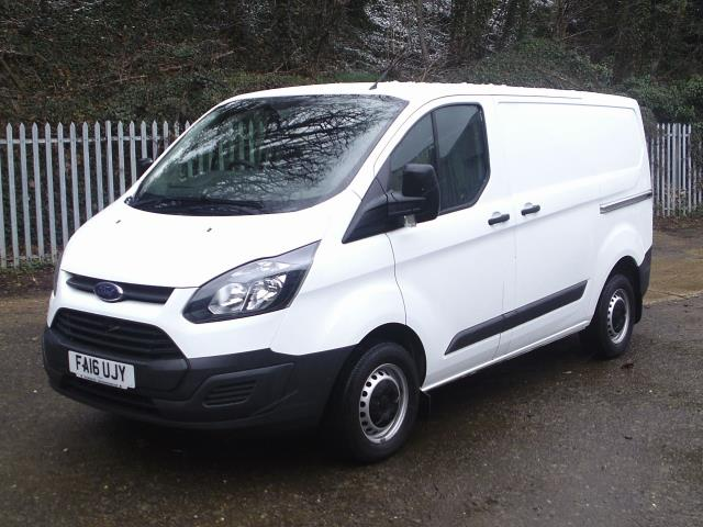 2016 Ford Transit Custom 290 L1 DIESEL FWD 2.2  TDCI 100PS LOW ROOF VAN EURO 5 (FA16UJY) Thumbnail 2