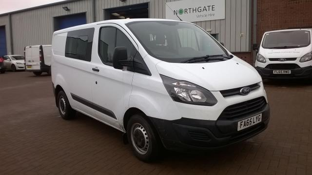 2016 Ford Transit Custom 2.2 Tdci 100Ps Low Roof D/Cab Van (FA65LYG)