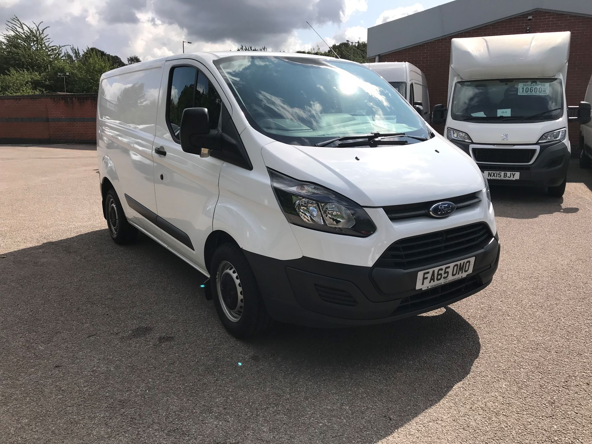 2016 Ford Transit Custom 2.2 Tdci 100Ps Low Roof Van Euro 5 (FA65OMO)