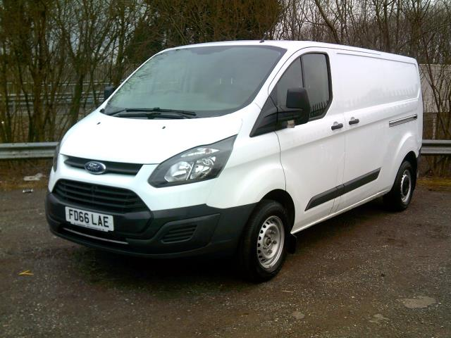 2016 Ford Transit Custom 2.0 Tdci 105Ps Low Roof Van L2 MWB Euro 6 (FD66LAE) Image 12