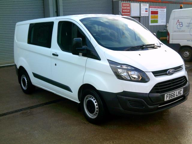 2016 Ford Transit Custom 2.0 Tdci 105Ps Low Roof D/Cab Van (FD66LHC)