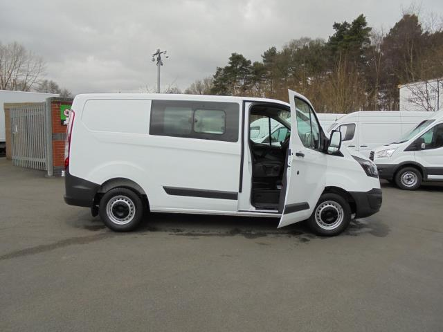 2016 Ford Transit Custom 2.0 TDCI 105Ps LOW ROOF  D/CAB VAN (FD66LZC) Image 5