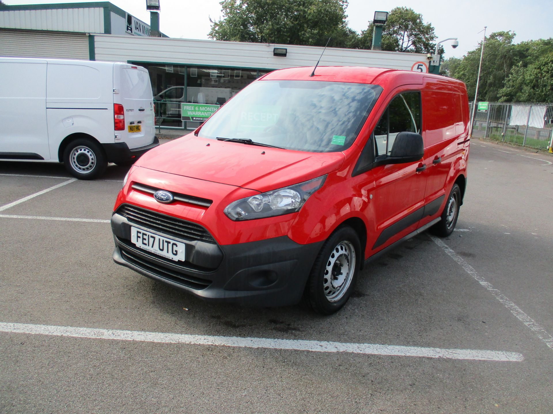 2017 Ford Transit Connect 1.5 Tdci 75Ps Van (FE17UTG) Image 9