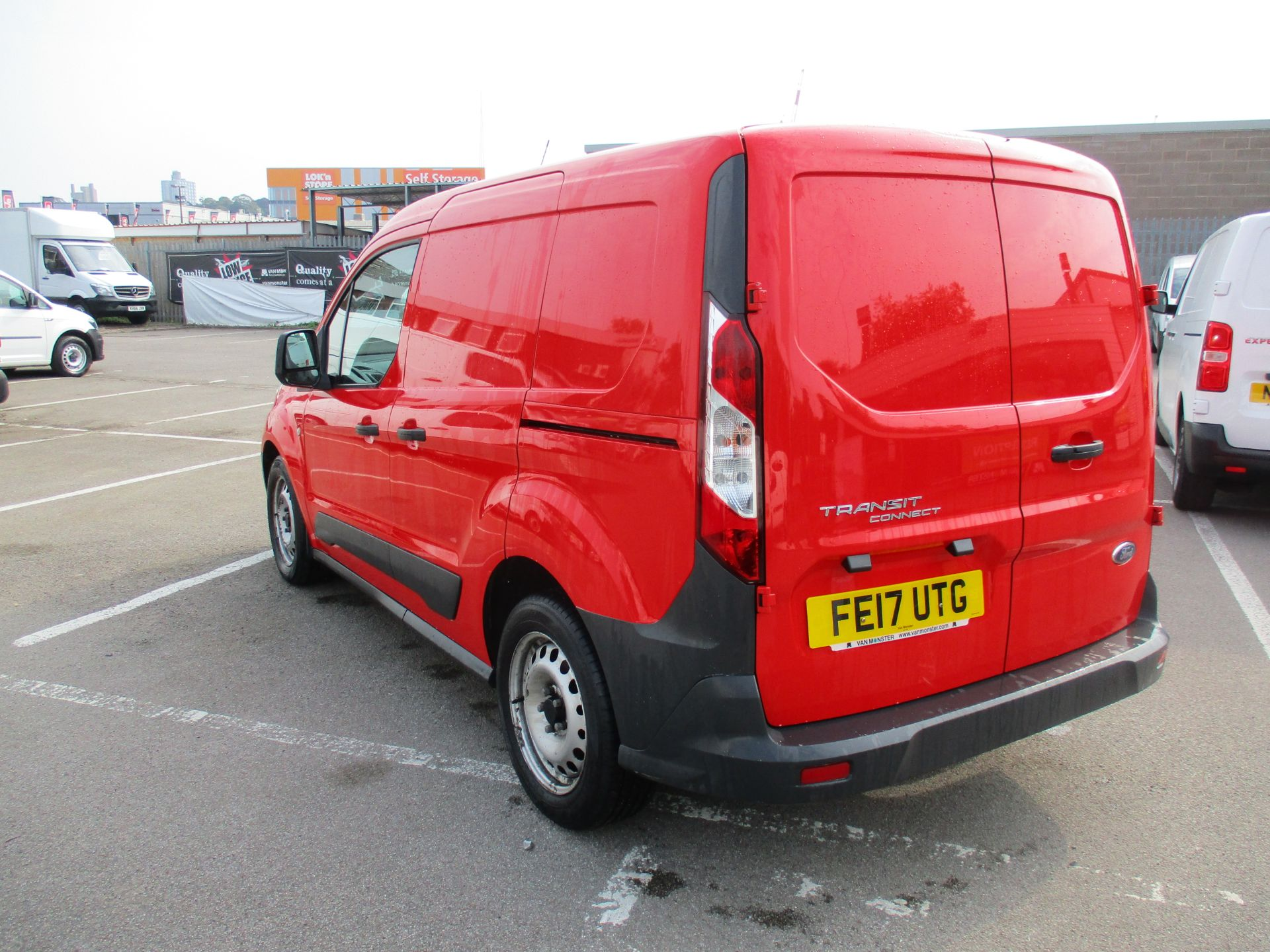 2017 Ford Transit Connect 1.5 Tdci 75Ps Van (FE17UTG) Image 4